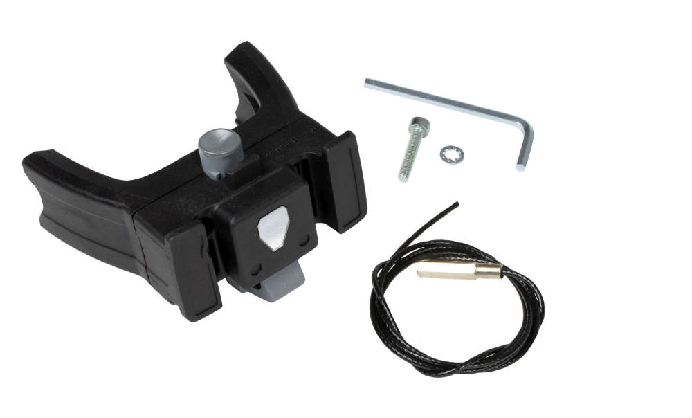 ORTLIEB Handlebar Mounting-Set E-Bike - black